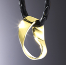 Moebiusband-Gold
